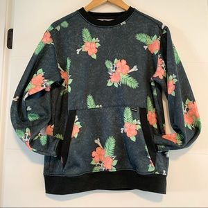 Volcom | Skull Hawaiian Sweatshirt